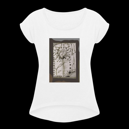 The Toron Society Of Artisans - Women's T-Shirt with rolled up sleeves
