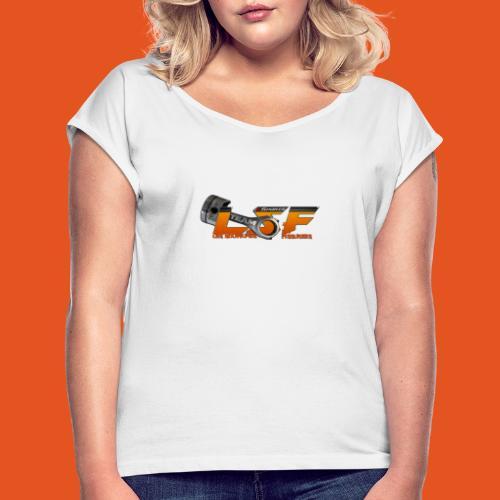 LSFlogo - T-shirt à manches retroussées Femme