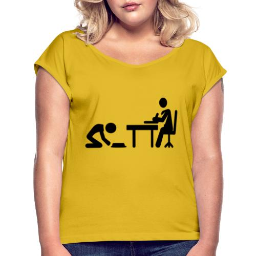 /Jobs: Series Two - Official Pre-Production Poster - Women's T-Shirt with rolled up sleeves
