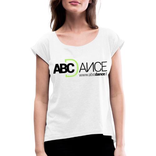 ABCDance - Maglietta da donna con risvolti