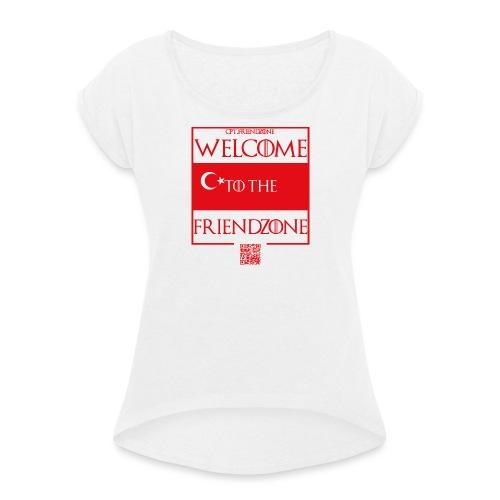 Türkei Frauen - Frauen T-Shirt mit gerollten Ärmeln