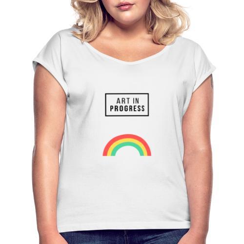 Art in progress - Maglietta da donna con risvolti