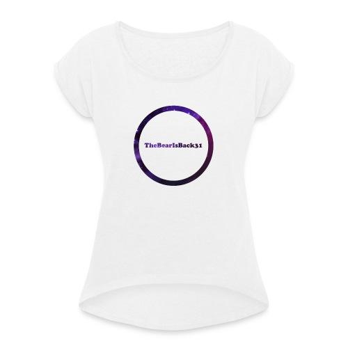 TheBearIsBack31 vrouw - Vrouwen T-shirt met opgerolde mouwen