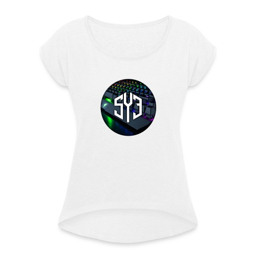 Scythe Esports - Frauen T-Shirt mit gerollten Ärmeln
