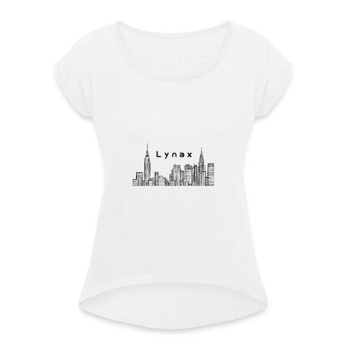 Lynax - T-shirt à manches retroussées Femme