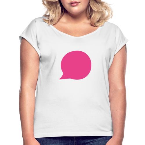 Neos Bubble - Frauen T-Shirt mit gerollten Ärmeln