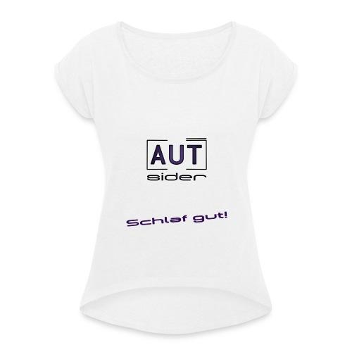 Avatarp png - Frauen T-Shirt mit gerollten Ärmeln