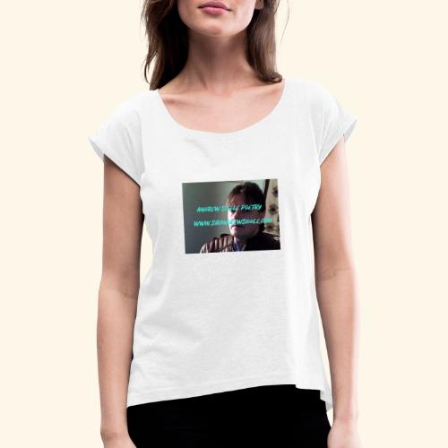 Andy2 - Women's T-Shirt with rolled up sleeves