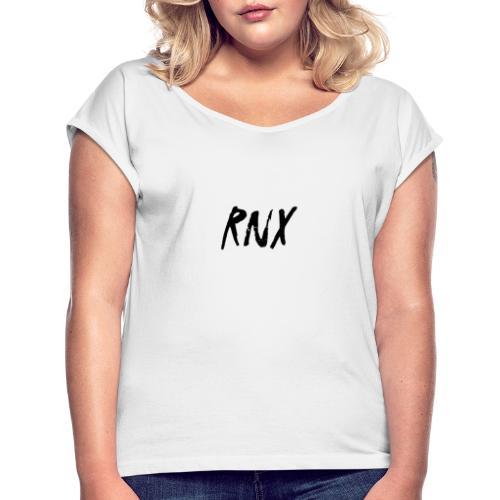 Rinx Design - Frauen T-Shirt mit gerollten Ärmeln