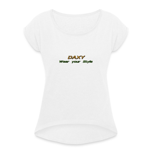 Herren Sixpack Shirt von DAXY - Frauen T-Shirt mit gerollten Ärmeln