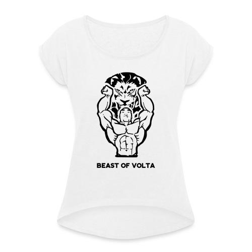 BOV 2 - Frauen T-Shirt mit gerollten Ärmeln