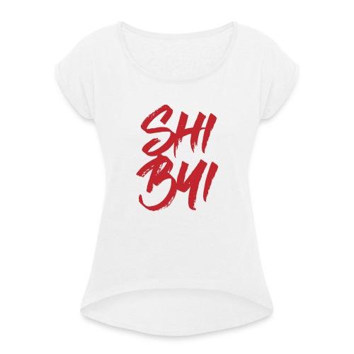 Fichier 4 - T-shirt à manches retroussées Femme