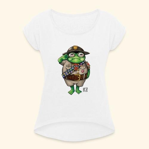 Der letzter Maimaifinder - Frauen T-Shirt mit gerollten Ärmeln