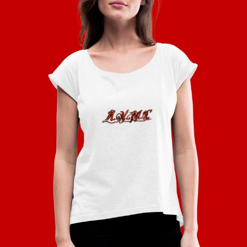A.V.M.C - Women's T-Shirt with rolled up sleeves