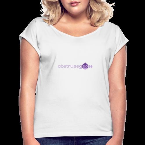 abstrusegoose #01 - Frauen T-Shirt mit gerollten Ärmeln