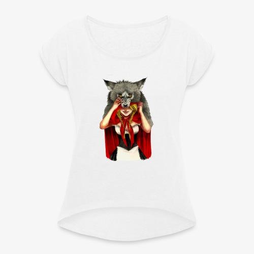 Little Red Riding Hood - Camiseta con manga enrollada mujer