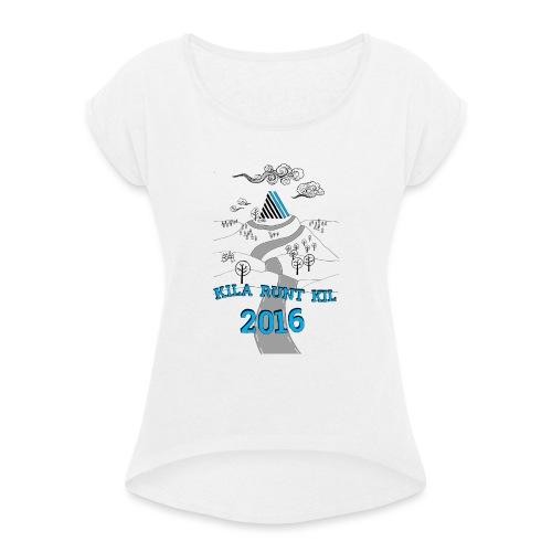 Kila runt Kil 2016 - Barn - T-shirt med upprullade ärmar dam