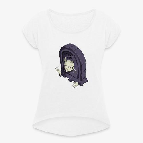 Tumb - Maglietta da donna con risvolti