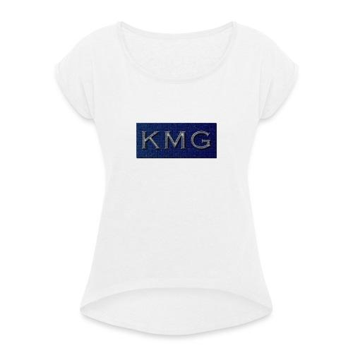 KMG - Dame T-shirt med rulleærmer
