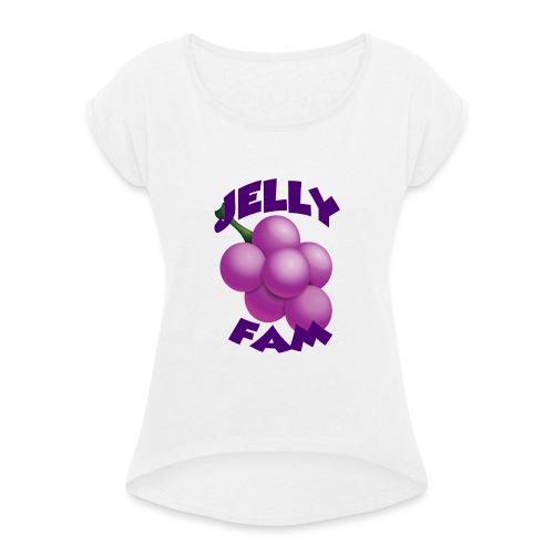 JellySquad - Dame T-shirt med rulleærmer