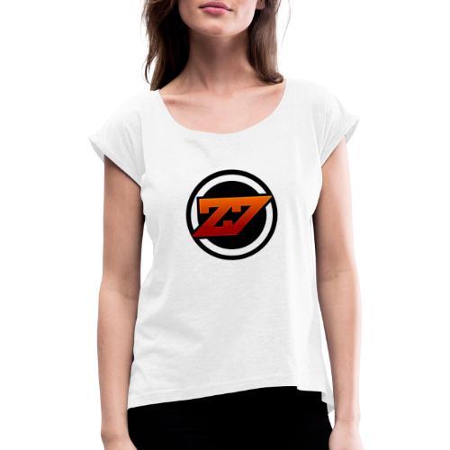 Suporter Auswahl - Frauen T-Shirt mit gerollten Ärmeln