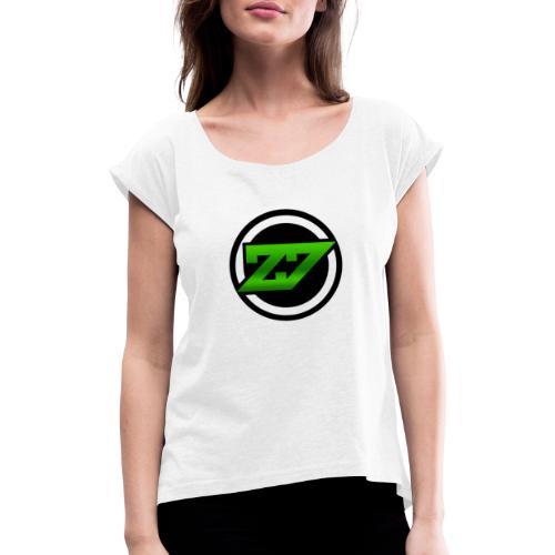 E-Sport Auswahl - Frauen T-Shirt mit gerollten Ärmeln