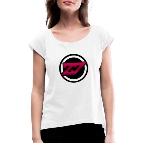 Cutter Auswahl - Frauen T-Shirt mit gerollten Ärmeln