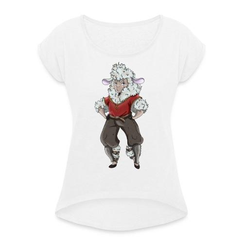 Aventurier Burlesque - T-shirt à manches retroussées Femme