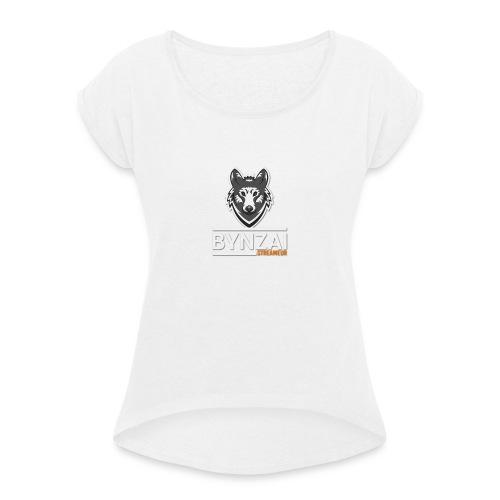 Casquette bynzai - T-shirt à manches retroussées Femme