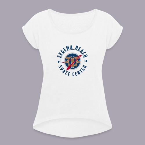 Zegema Beach Space Center - T-shirt à manches retroussées Femme