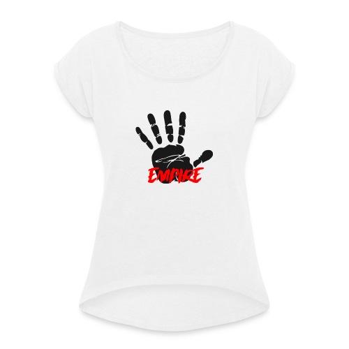 Empire Collection : 3 - T-shirt à manches retroussées Femme
