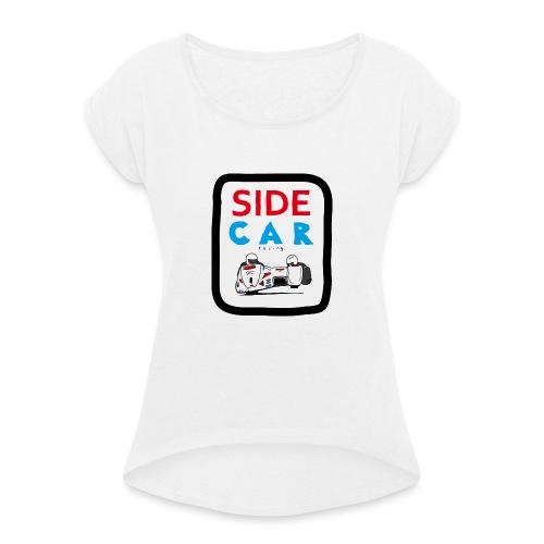 SIDE car racing - T-shirt à manches retroussées Femme