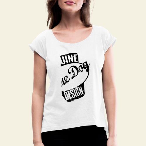 raredog fuelwear - Dame T-shirt med rulleærmer