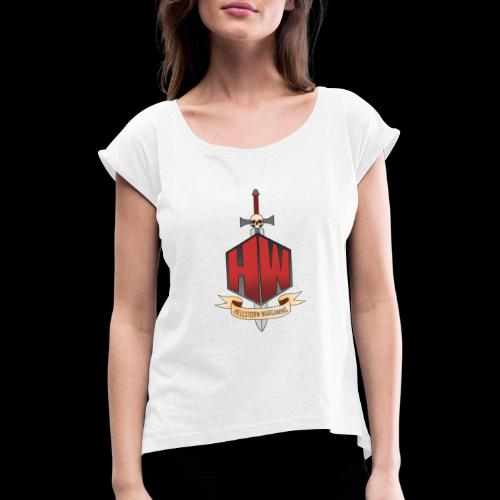 Hellstorm Wargaming - Women's T-Shirt with rolled up sleeves