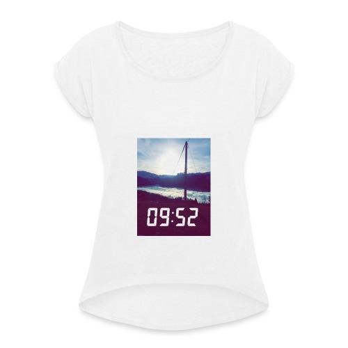Snap 9h52 - T-shirt à manches retroussées Femme