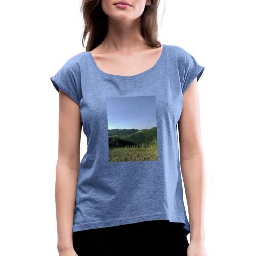 Panorama - Maglietta da donna con risvolti
