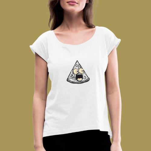 SP Mascot - T-skjorte med rulleermer for kvinner