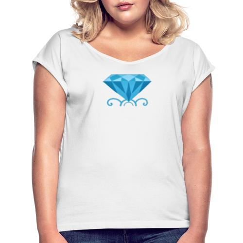 Platinum - Women's T-Shirt with rolled up sleeves