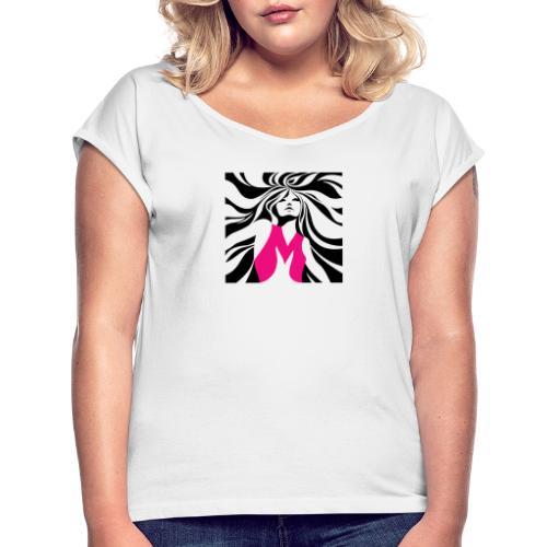 Mélographie - T-shirt à manches retroussées Femme