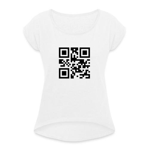 Sono Single QR Code - Maglietta da donna con risvolti