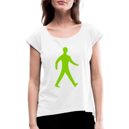 Pedestrian - Women's T-Shirt with rolled up sleeves