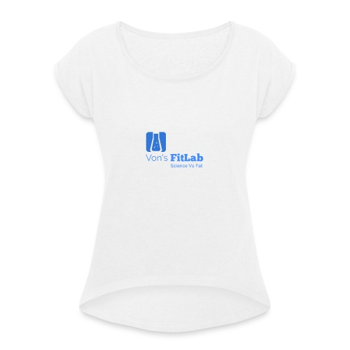 Vons FitLab - Women's T-Shirt with rolled up sleeves