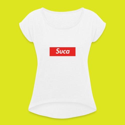 Suca - Maglietta da donna con risvolti