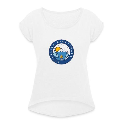 Kvinnliga Äventyrare - T-shirt med upprullade ärmar dam
