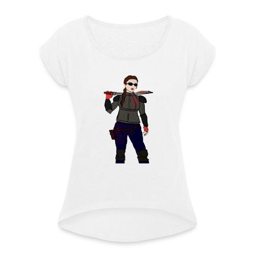 HOSHI'S AVATAR - Maglietta da donna con risvolti