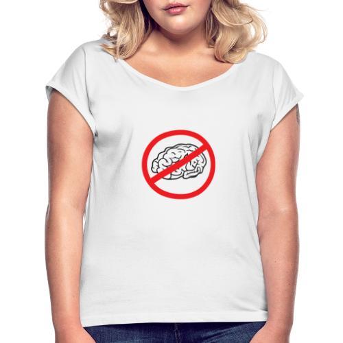 Coleción Basic Logo I - Camiseta con manga enrollada mujer