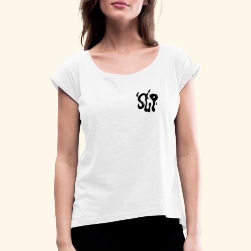 sup - T-shirt à manches retroussées Femme