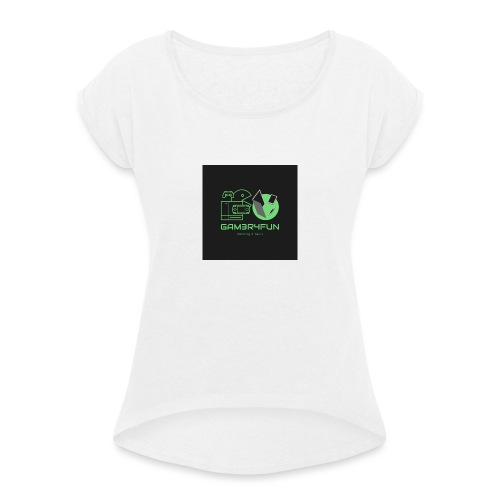Logo 2020 - Women's T-Shirt with rolled up sleeves