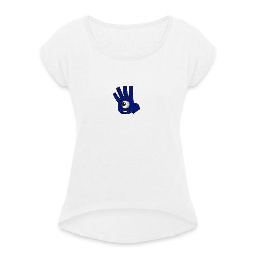 Dobble - Dame T-shirt med rulleærmer