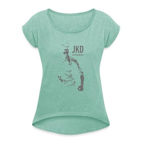 JKD - Maglietta da donna con risvolti